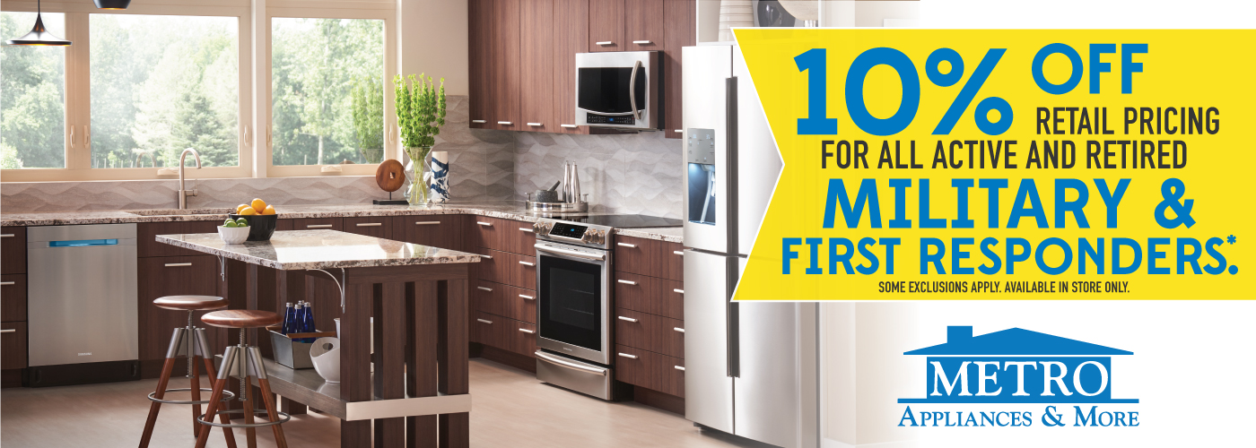 Metro Appliances & More | Kitchen & Home Appliance Stores - Metro